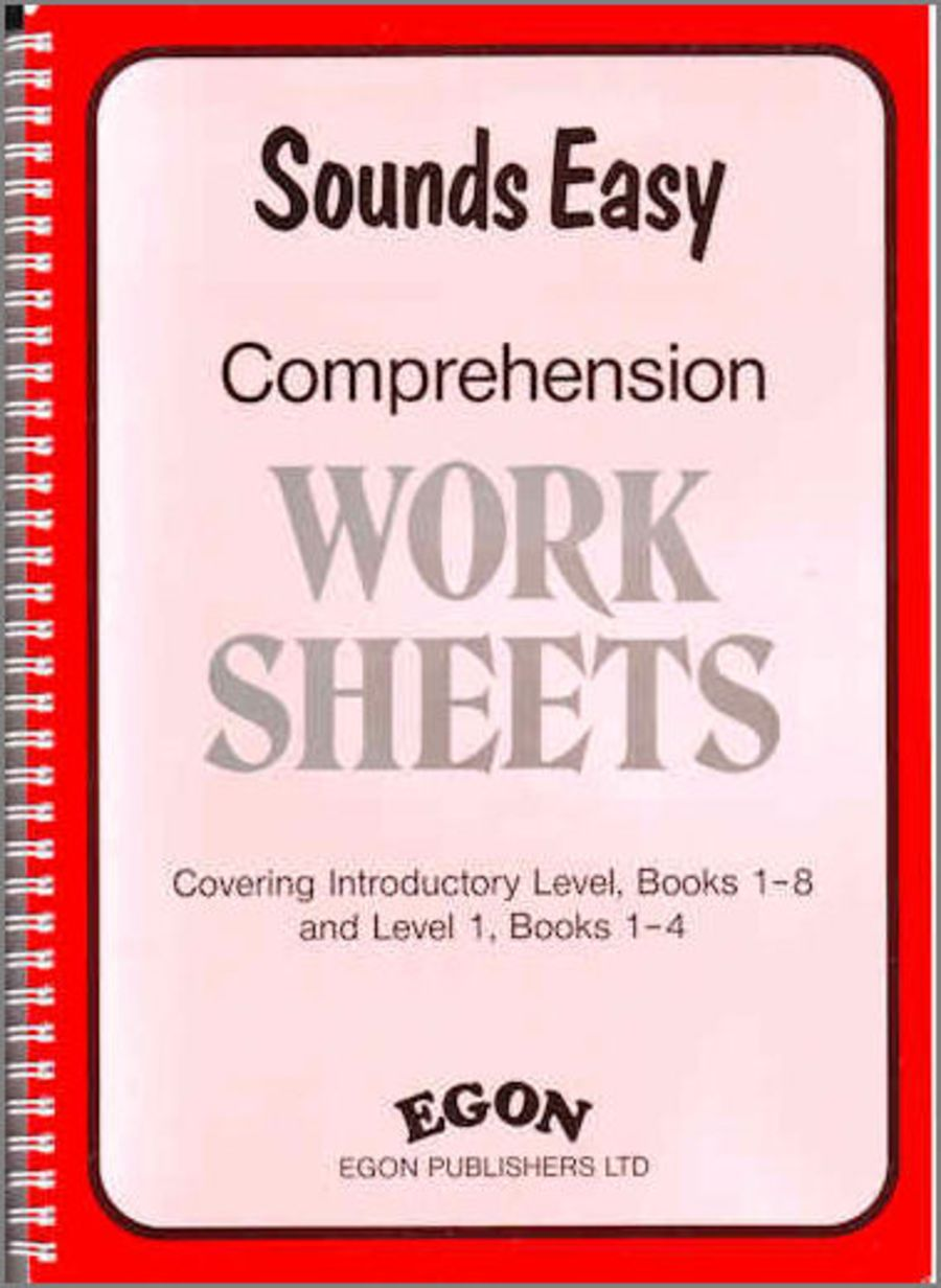 Sounds Easy: Comprehension Worksheets