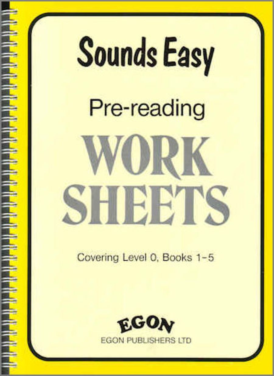Sounds Easy: Pre-Reading Worksheets