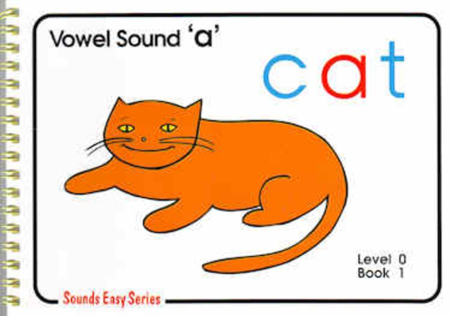 Sounds Easy: Pre-Reading Level 0, Book 1