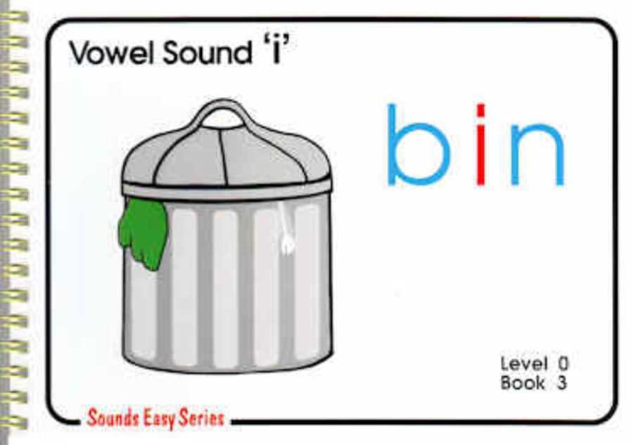 Sounds Easy: Pre-Reading Level 0, Book 3