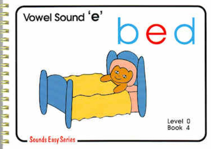Sounds Easy: Pre-Reading Level 0, Book 4