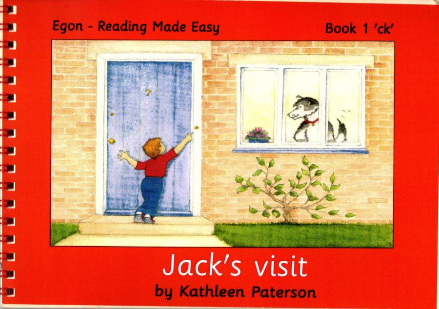 Reading Made Easy: Book 1,  Jack's Visit