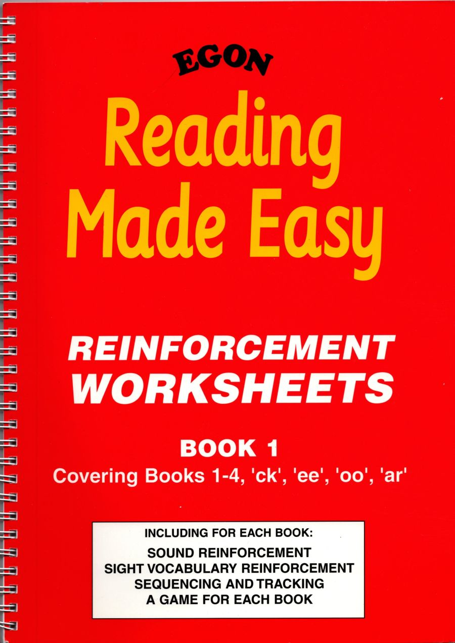 Reading Made Easy: Reinforcement Worksheets Book 1