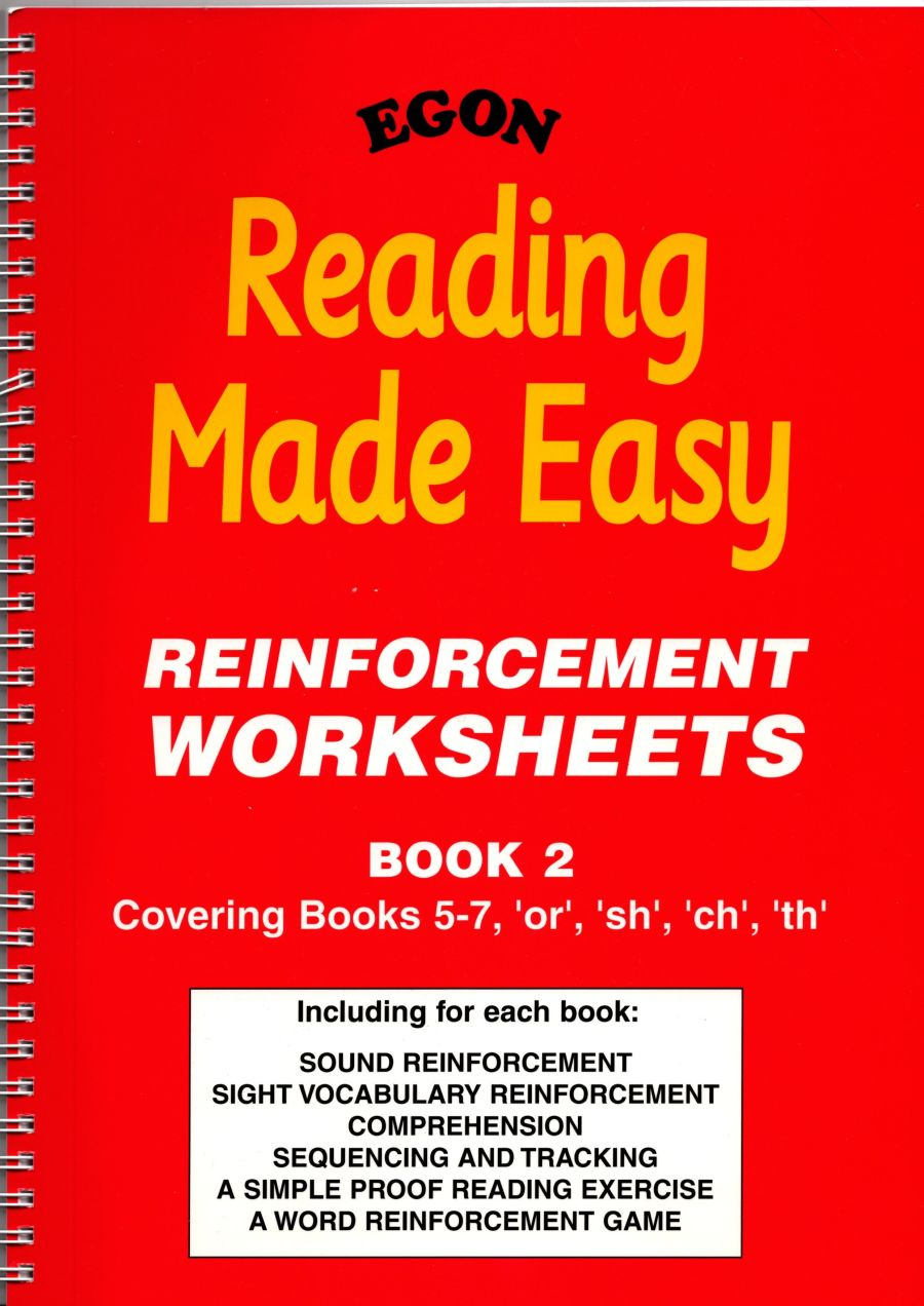 Reading Made Easy: Reinforcement Worksheets Book 2