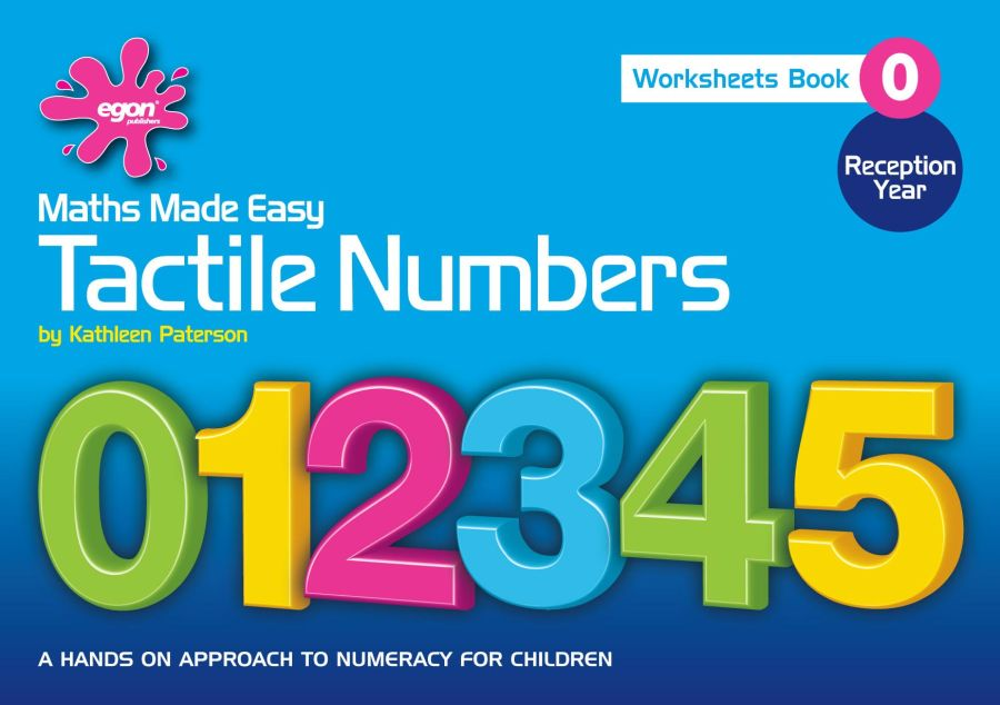 Maths Made Easy: Book 0, Tactile Numbers