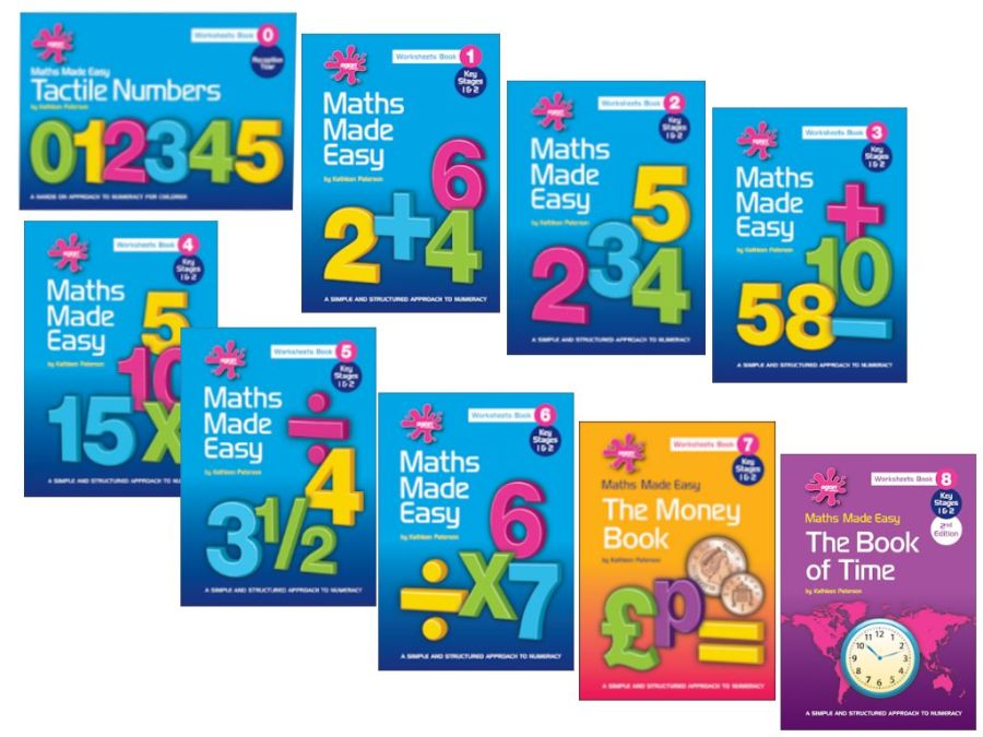 Maths Made Easy:  Set of 9 Books