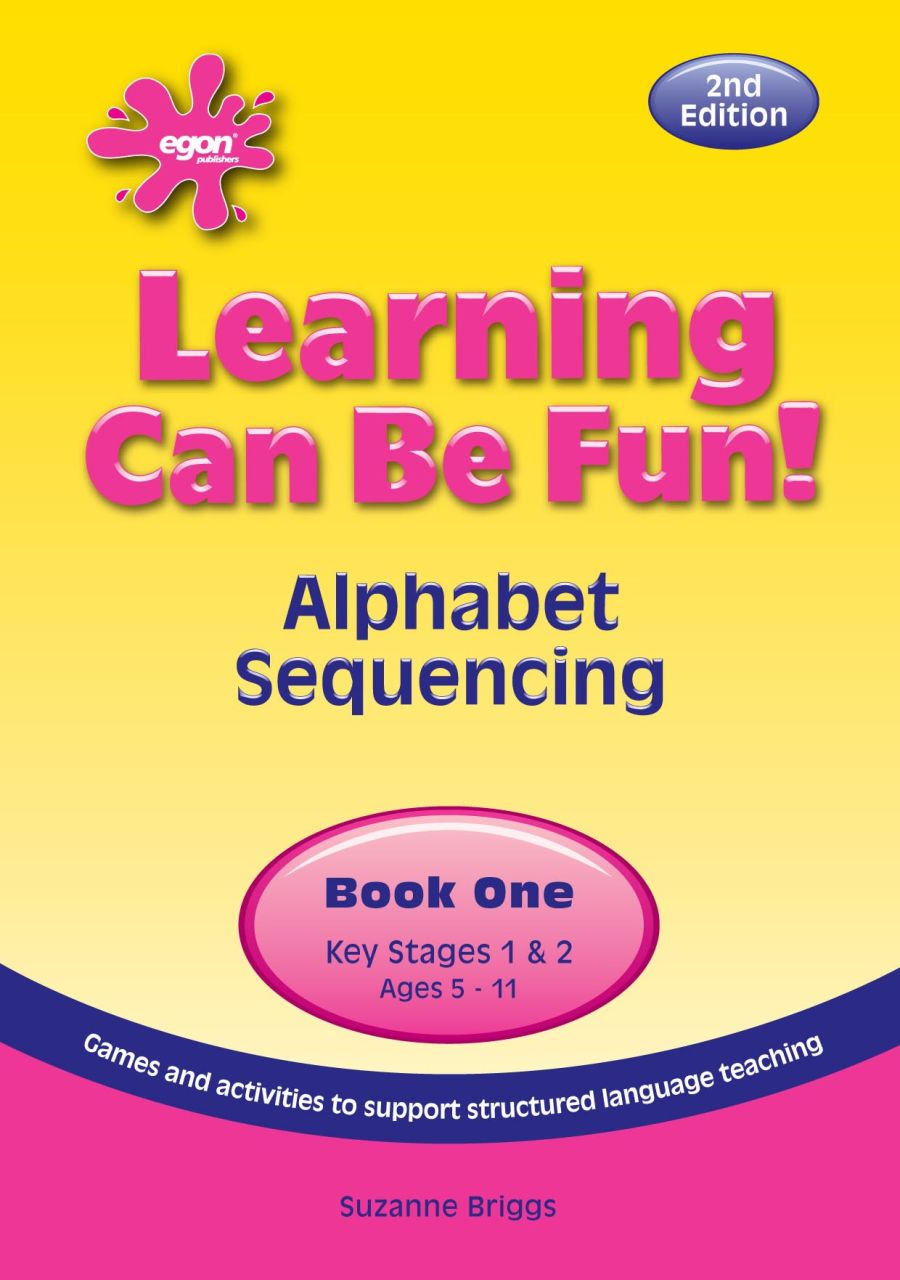 Learning Can Be Fun!  Book 1: Alphabet Sequencing
