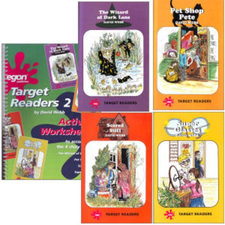 Target Readers Set 2 Plus