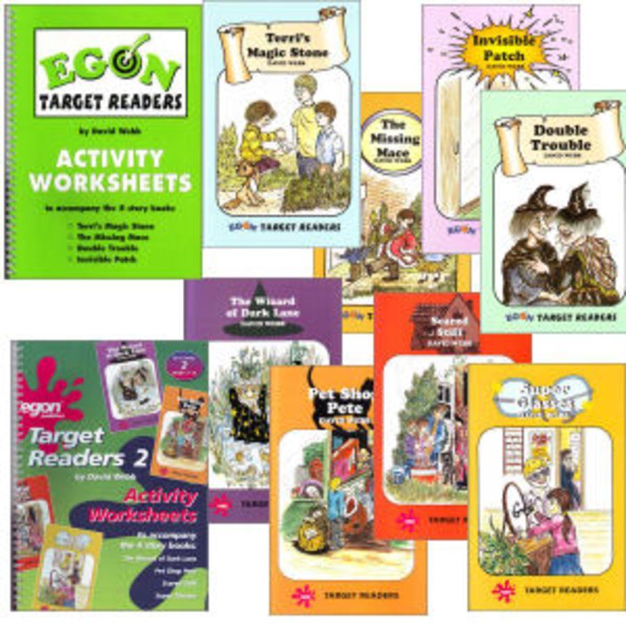 Target Readers Complete Set