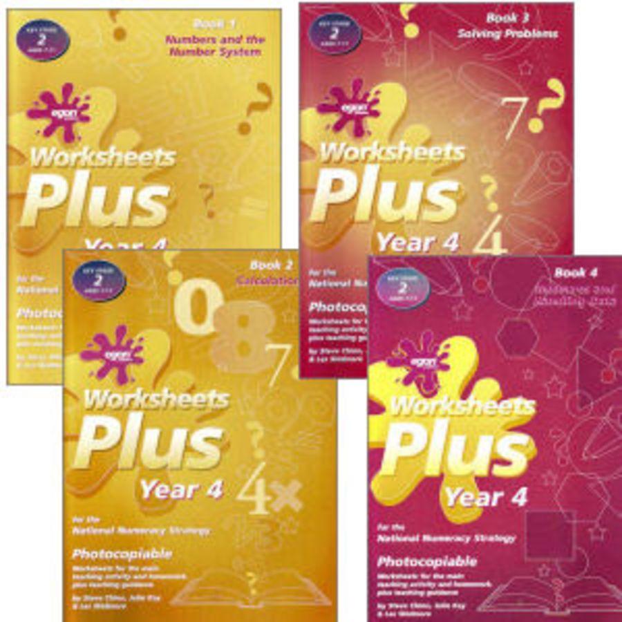 Worksheets Plus Year 4 Set