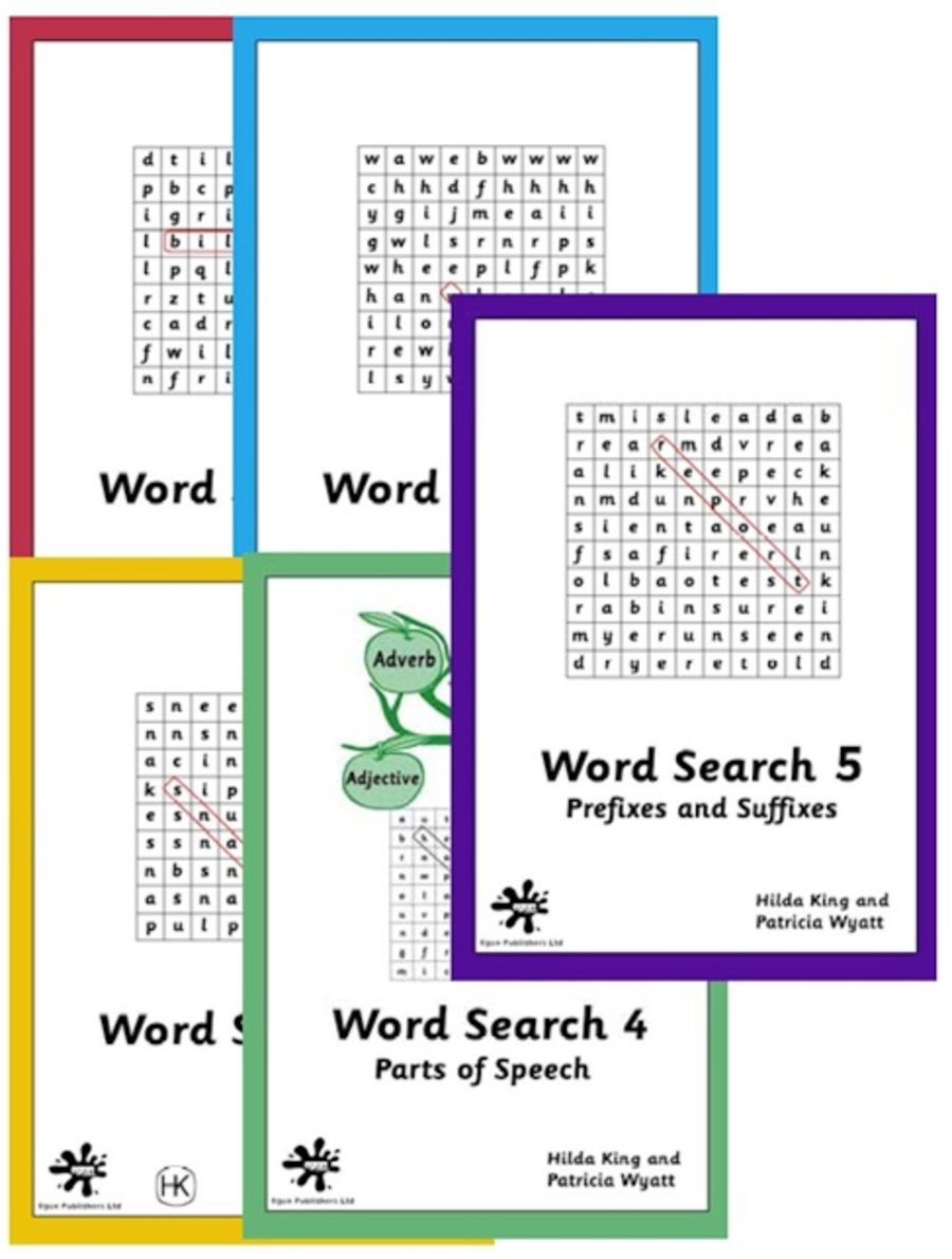 Word Search SET - 5 books