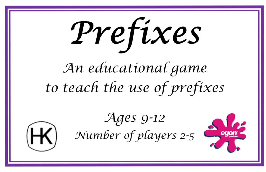 Prefixes Card Game