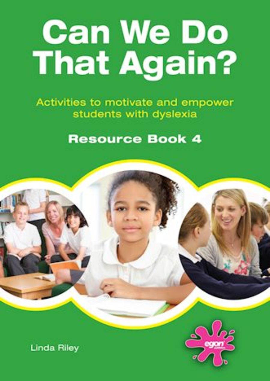 Can We Do That Again? Resource Book 4