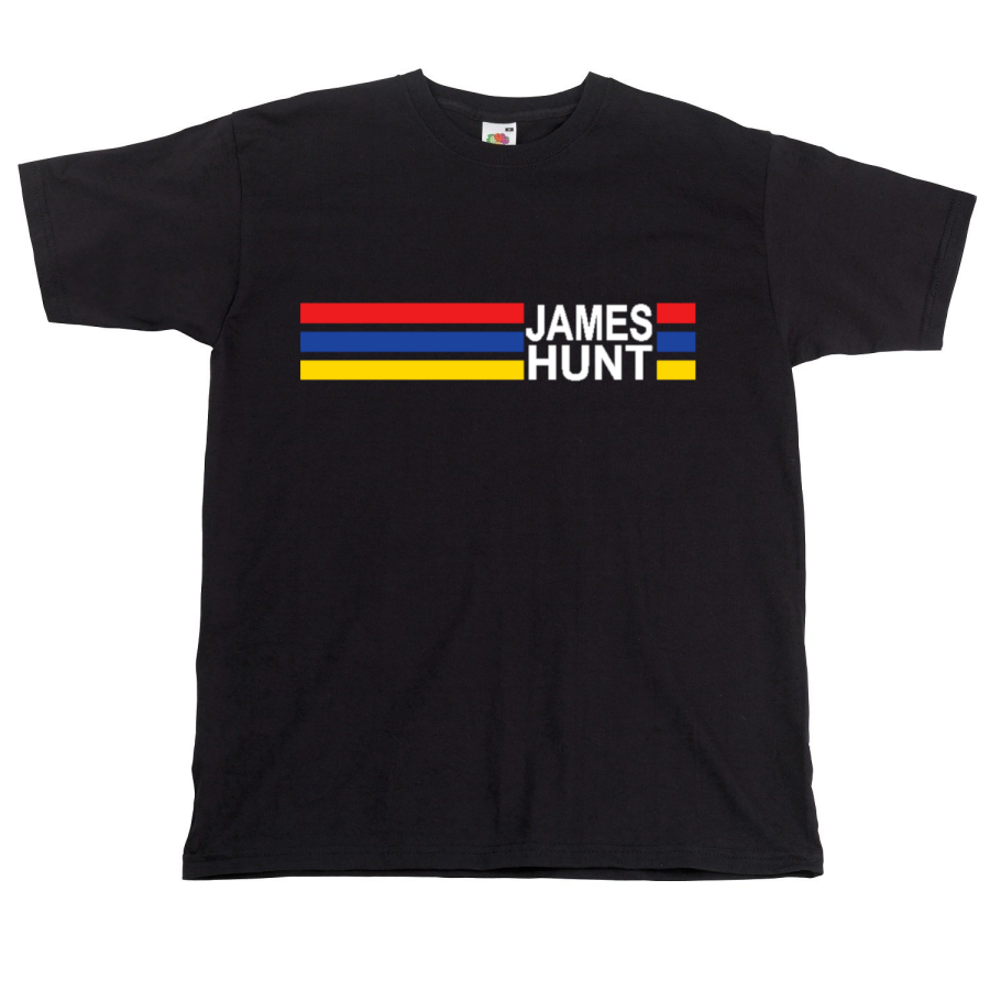 James Hunt Racing Colours