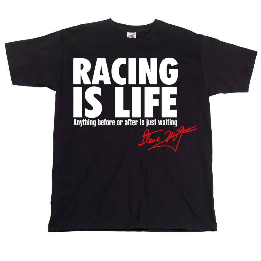 Steve McQueen Racing is Life Quote