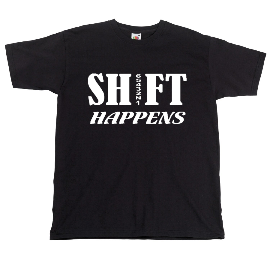 Shift Happens Motorbiker