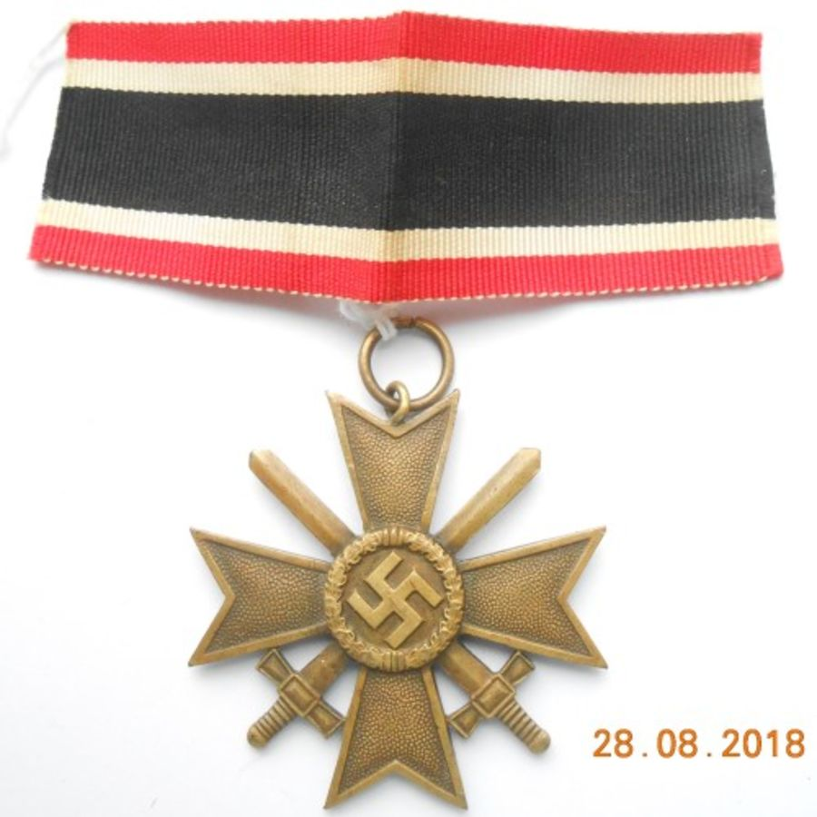 War Merit Cross 2nd Class With Swords_ (Ref:231)