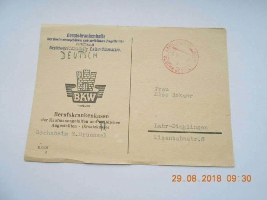 WW2 FELDPOST CARD