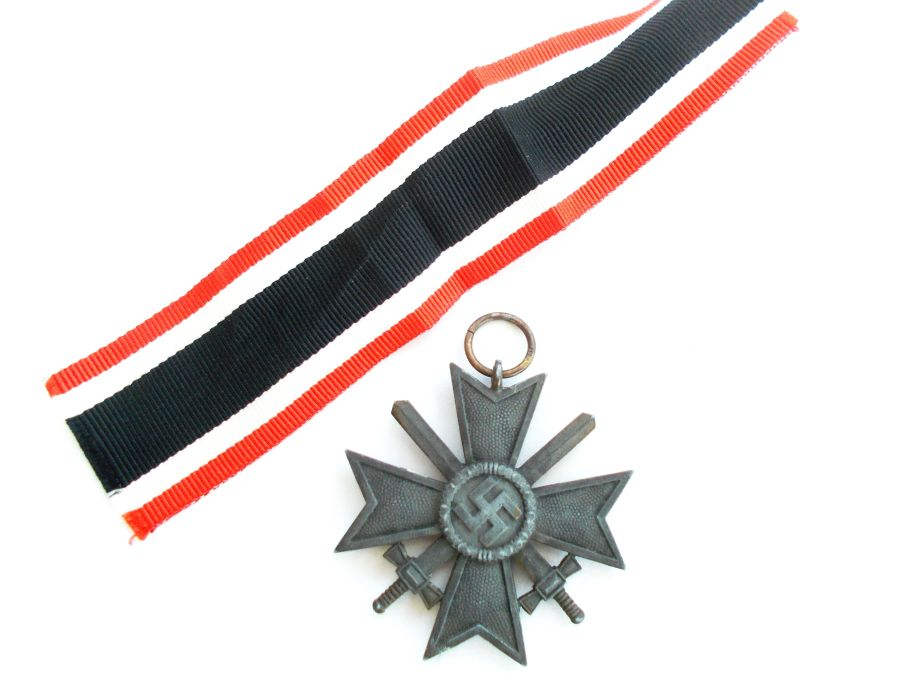 War Merit Cross 2nd Class With Swords makers marked 127