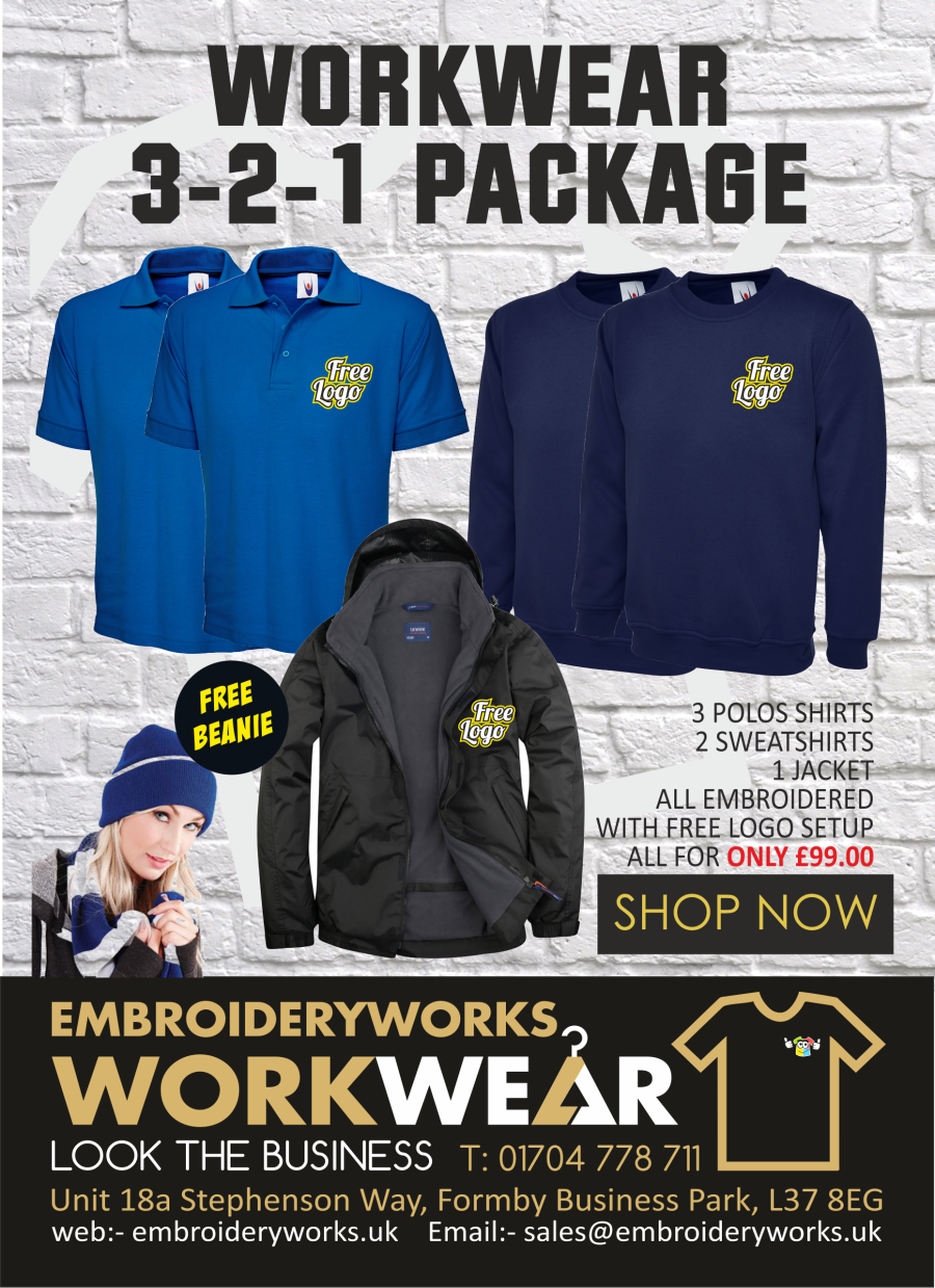 3-2-1 EMBROIDERED PREMIUM WORKWEAR PACK