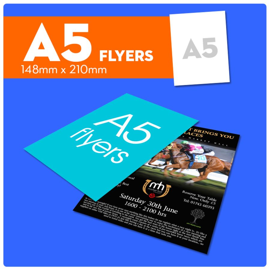 A5 FLYERS PRINTED