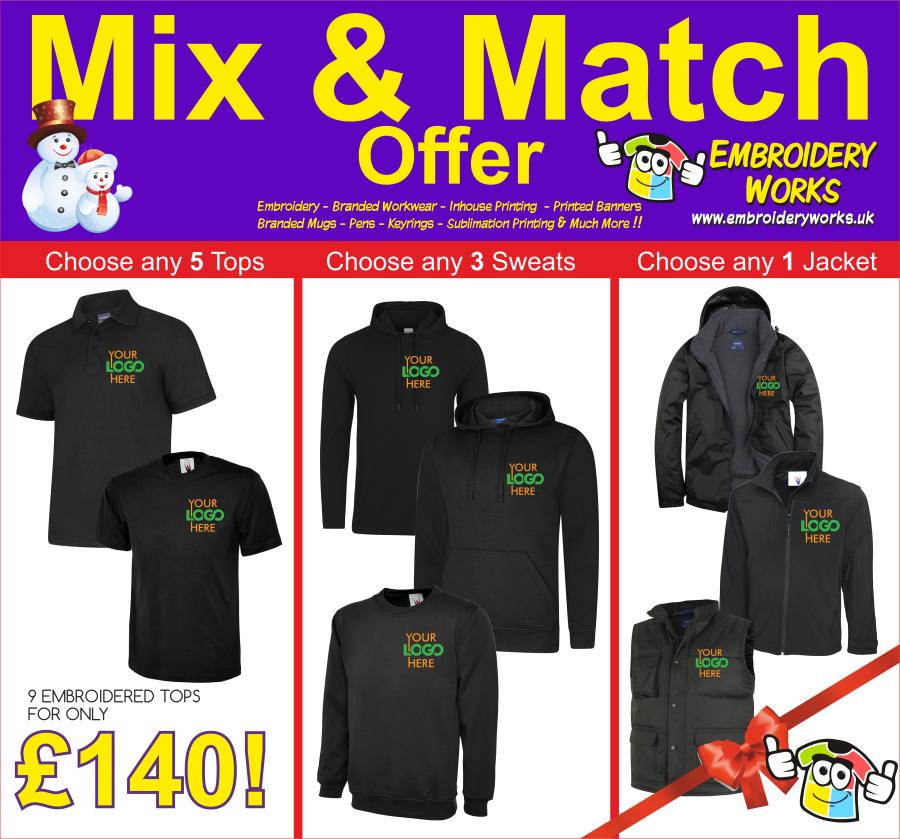 Mix & Match Offer