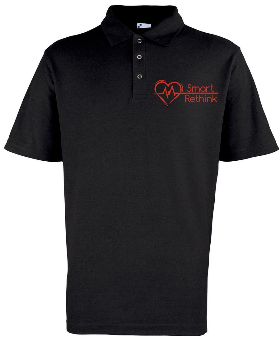Smart Rethink Premium Polo Shirt – Black