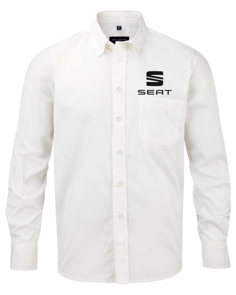 IMG SEAT Long sleeve classic twill shirt