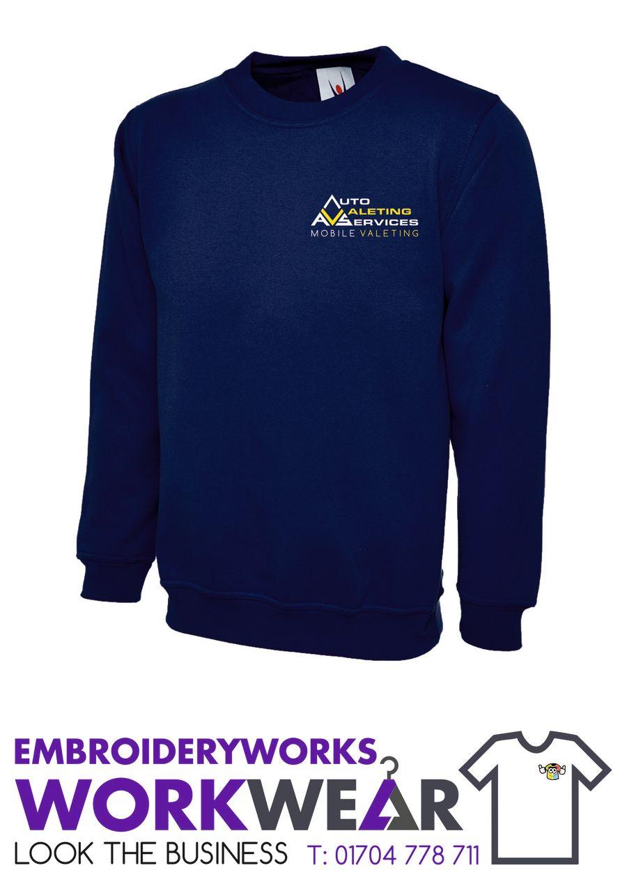 AVS Premium Sweatshirt  - Navy