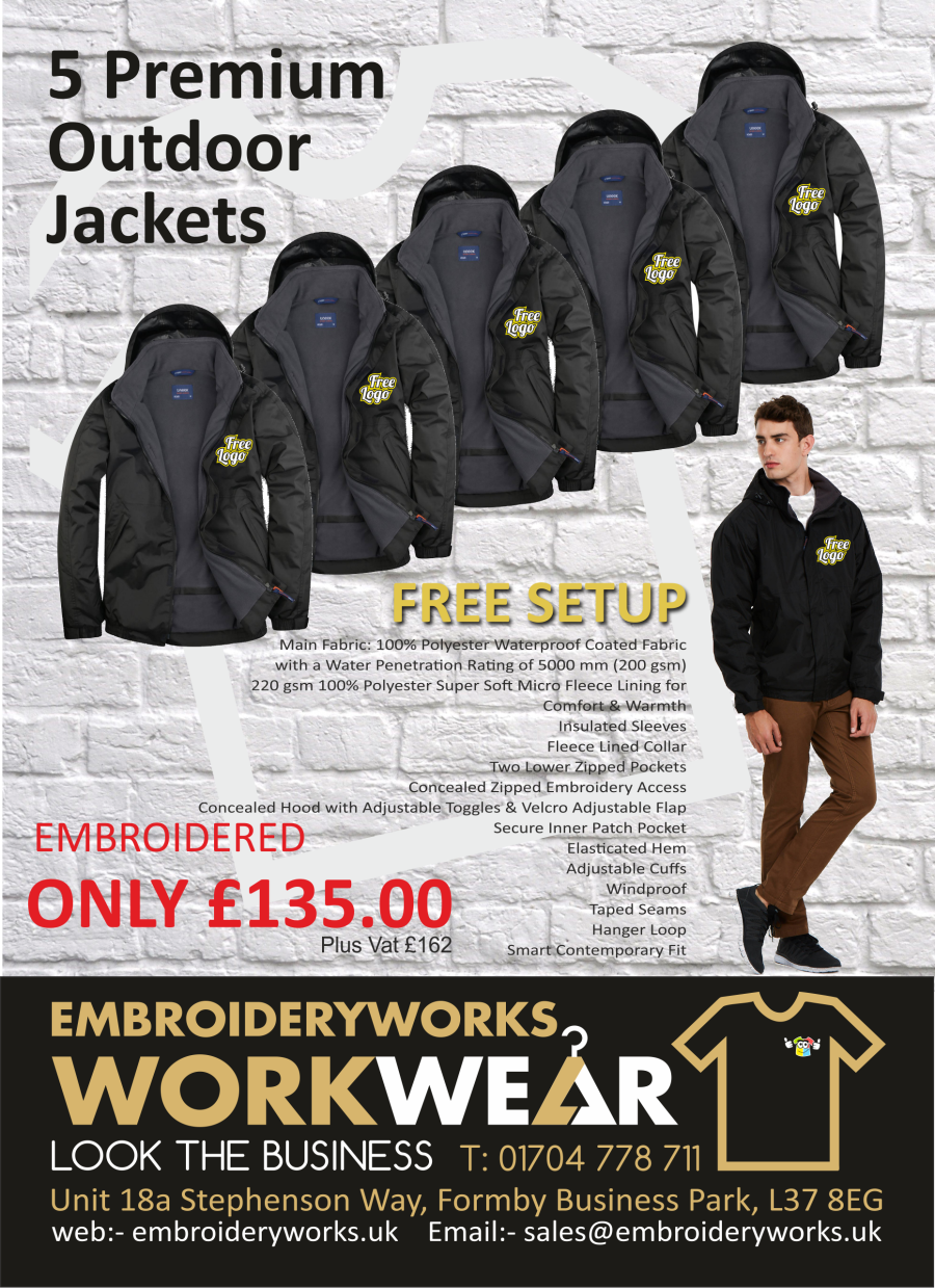 EMBROIDERED 5 JACKETS PACKAGE