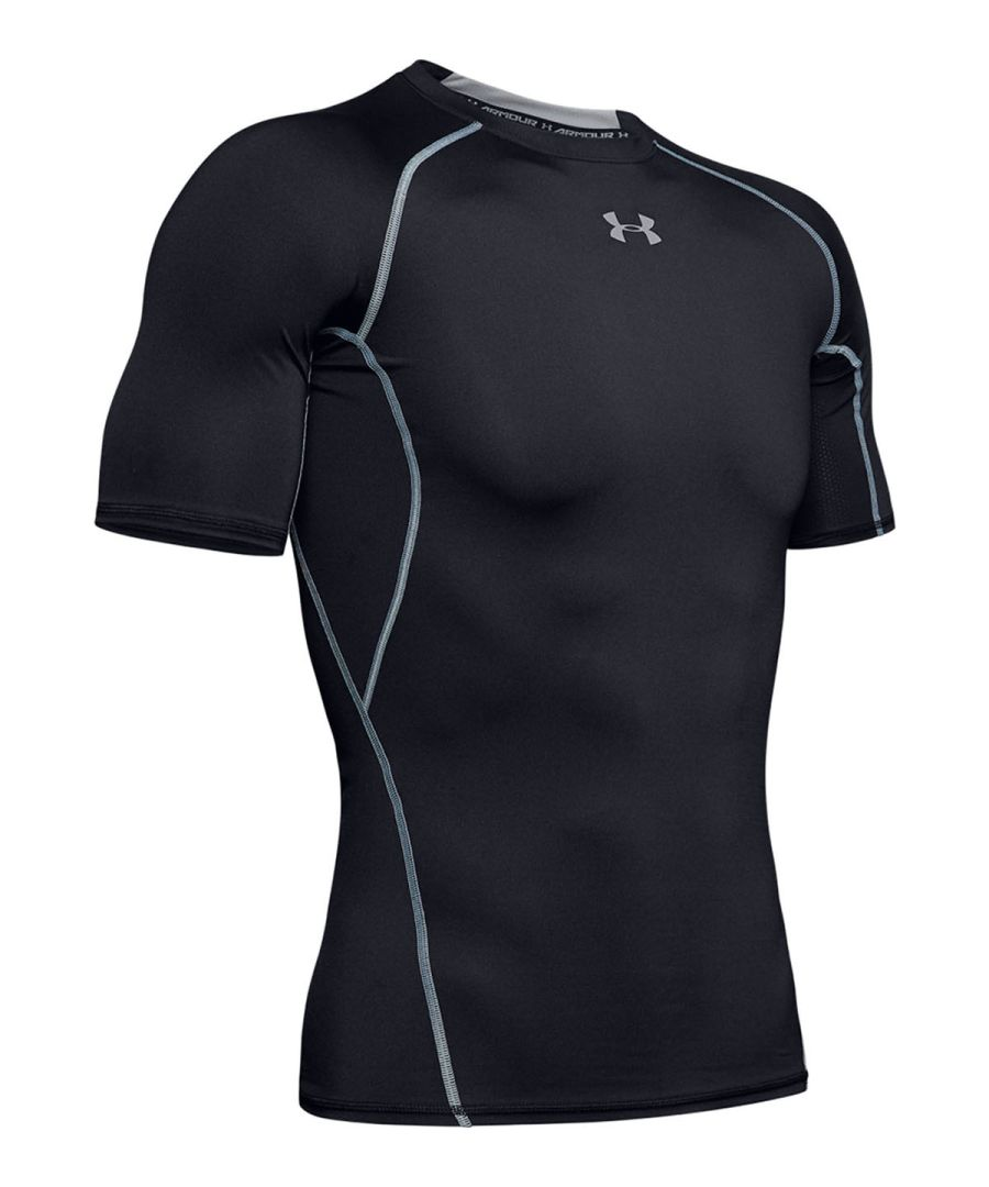 Under Armour HeatGear® Armour short sleeve compression shirt
