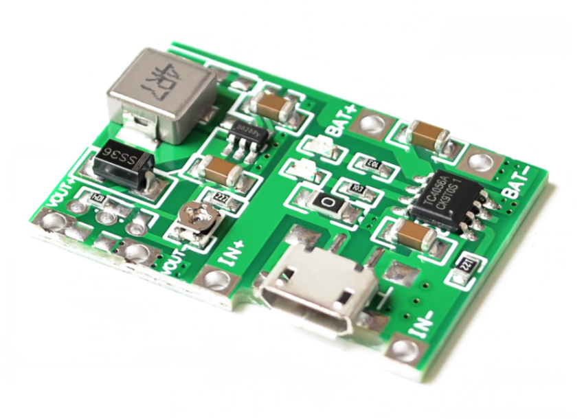 Battery Charger / Step Up Module