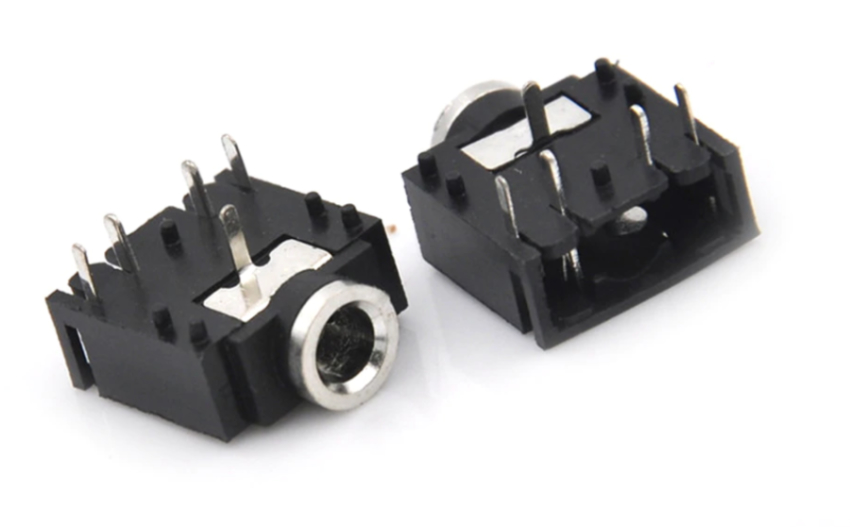 3.5mm Female Audio Connector 3 Pin Stereo Headphone Jack