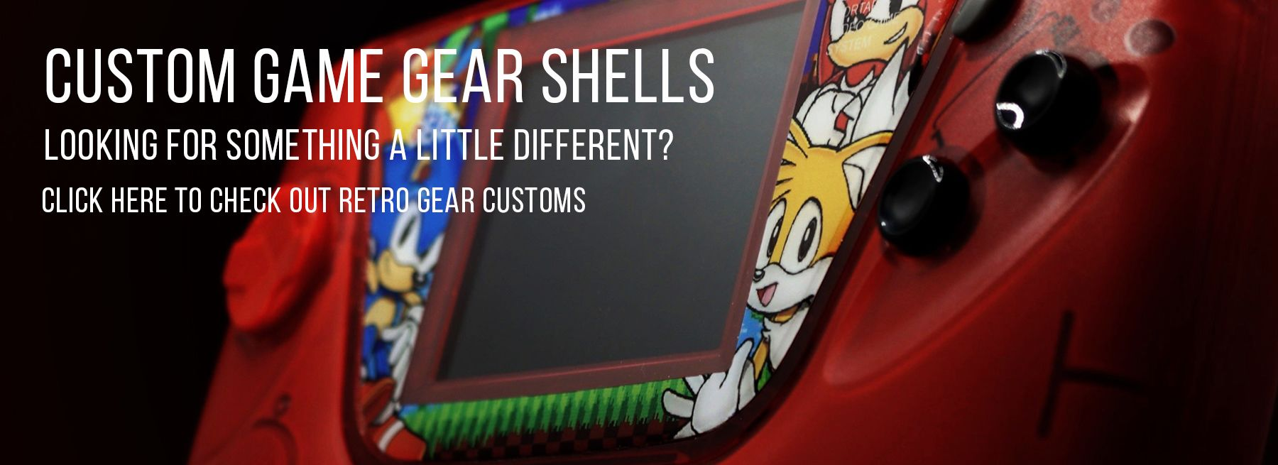 Check out these beautiful custom Game Gear shells.