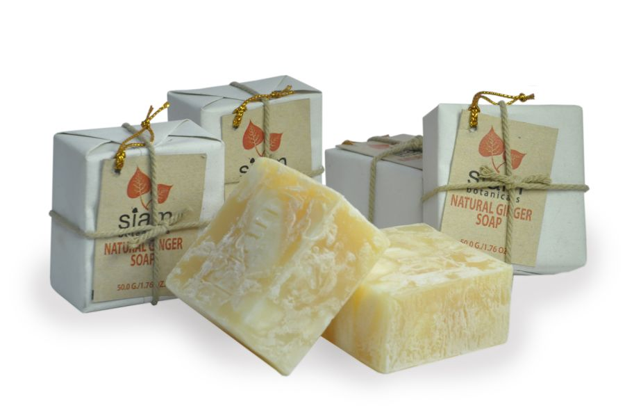 Natural Ginger Soap 50g
