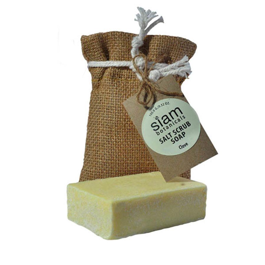 Clove Salt Scrub Soap 100g