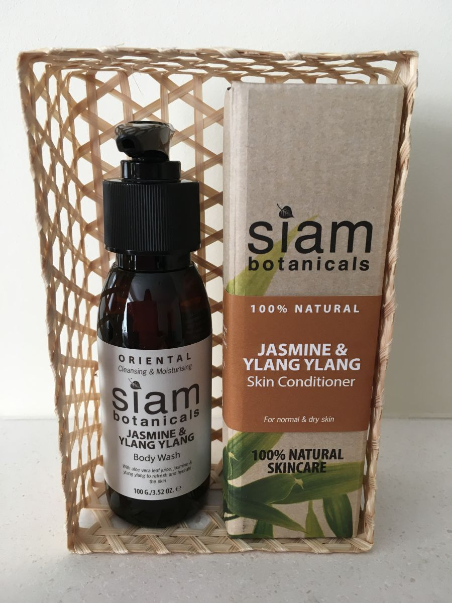 Oriental Body Wash & Skin Conditioner Set