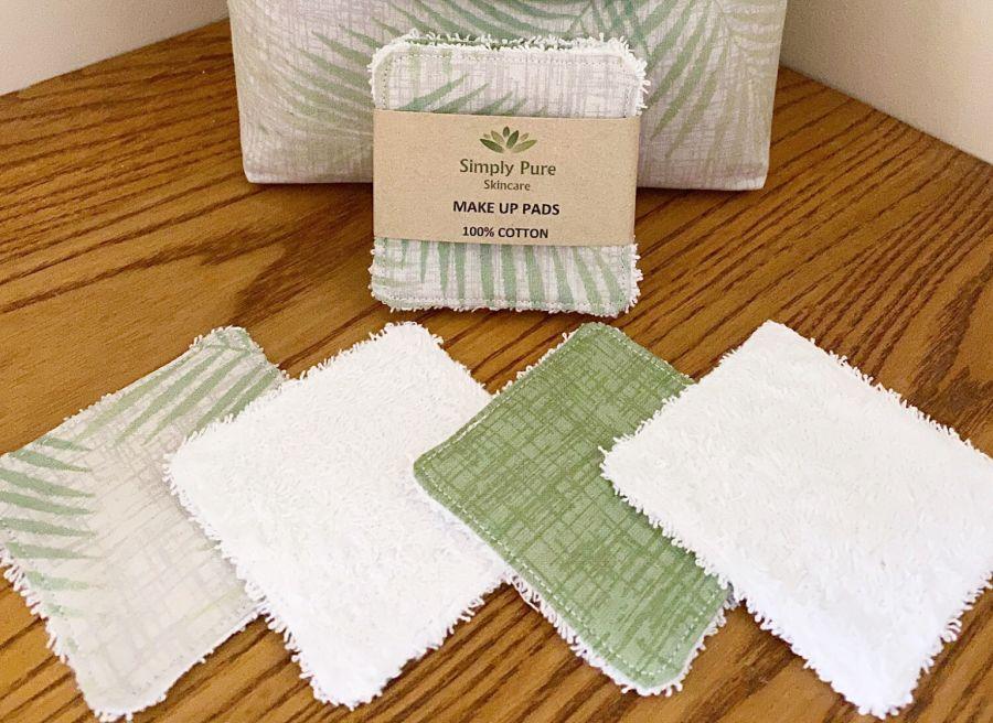 100% Cotton Reusable Make Up Pads