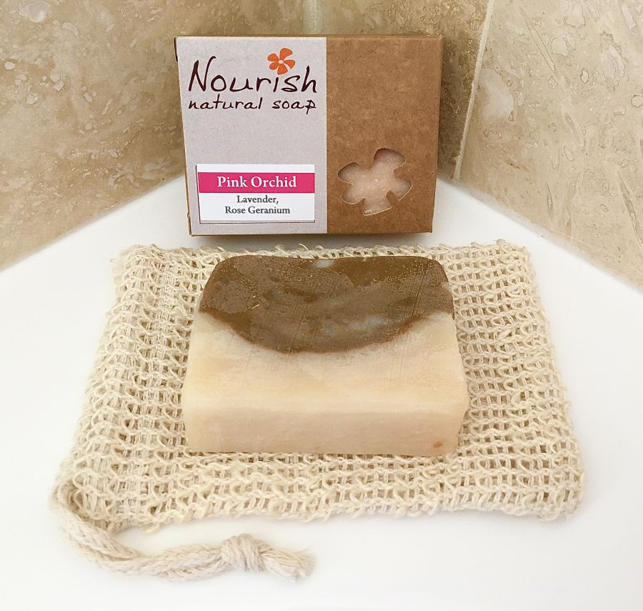 Soap & Soap Bag Set
