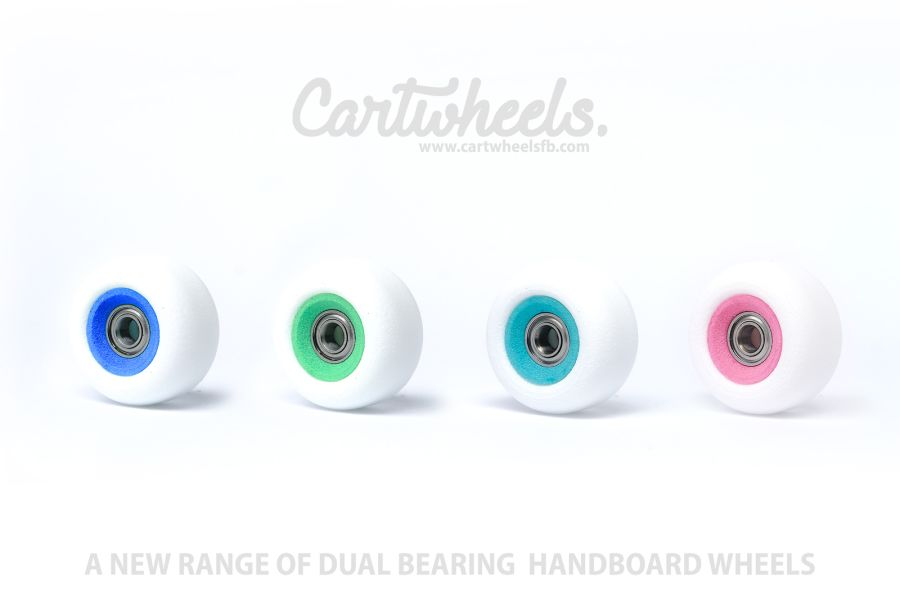 Cartwheels Dual Bearing Core Handboard Wheels