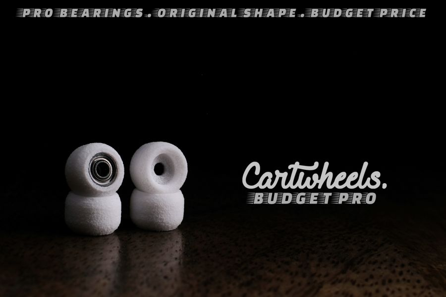 Cartwheels Budget Dual Bearing Mini Wheels