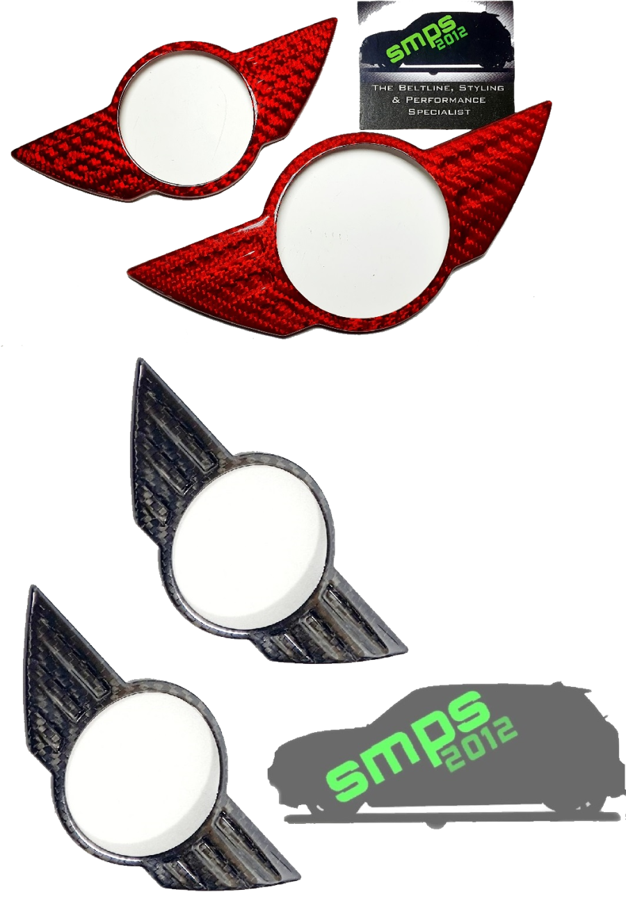 Gen 1 Mini Carbon Fibre Badge Covers