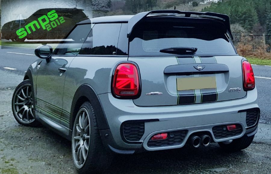 Mini F56 JCW Challenge Duel AG Style Spoiler