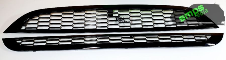 Gen 1 Mini R50, R52, R53 Replacement Grille Trims Piano Black Gloss