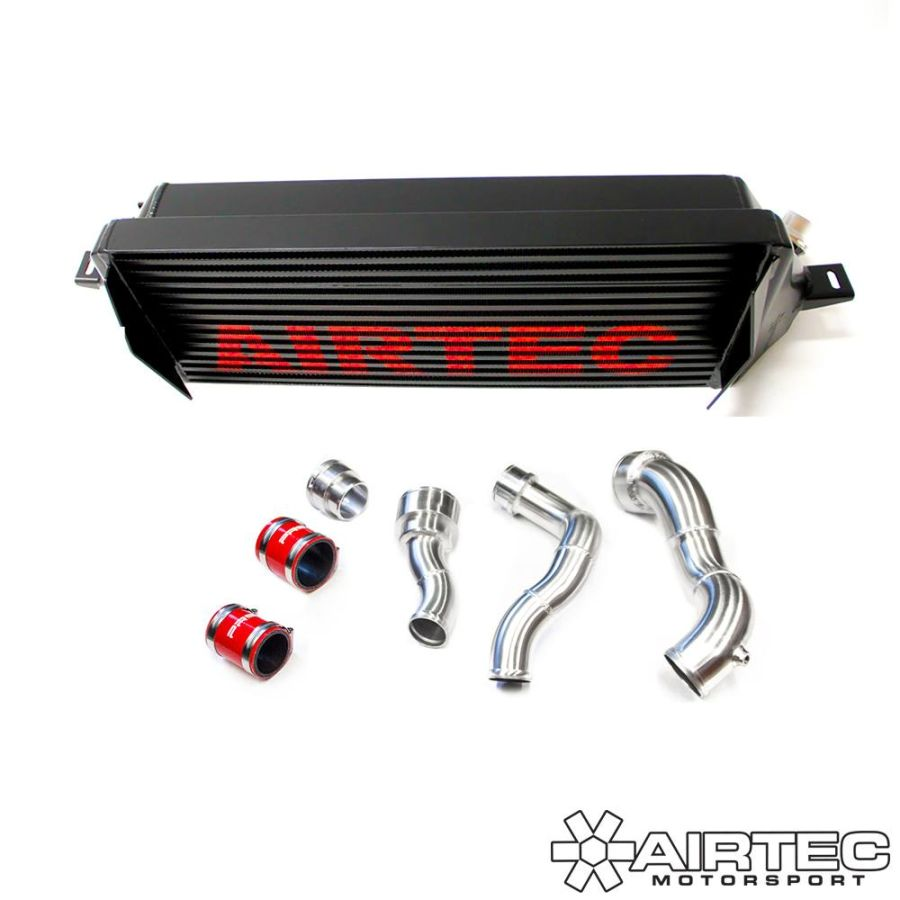 AIRTEC Intercooler Upgrade and Stage 1 Boost Pipe Kit for Mini F56 JCW