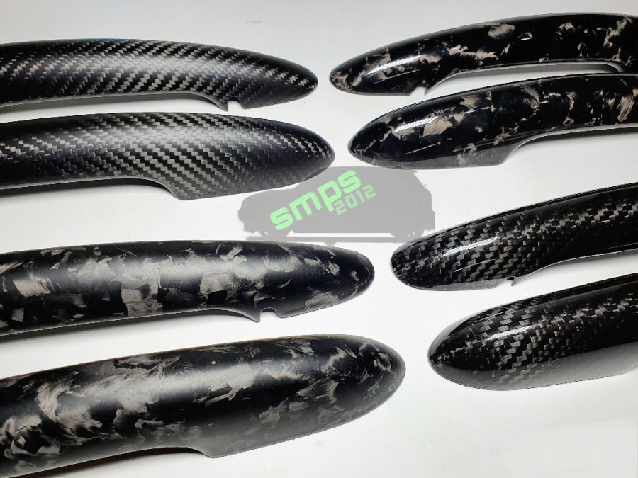Gen 3 Carbon Fiber F56 Handle covers