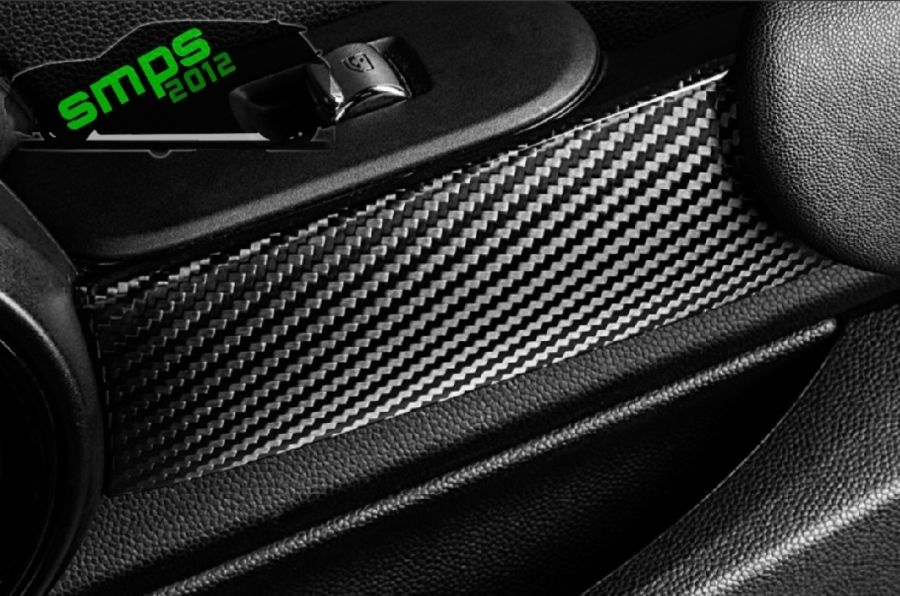 Mini Gen 3 Carbon Fiber Door Bar Covers