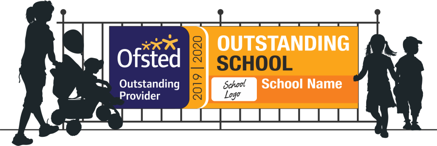 Ofsted Outstanding Banners