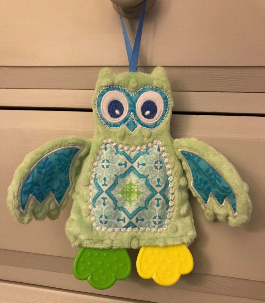 Oli the Owl Teether Toy