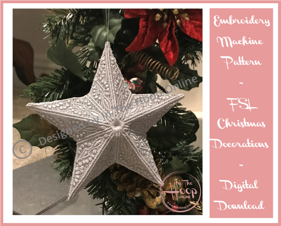 3D FSL Christmas Star